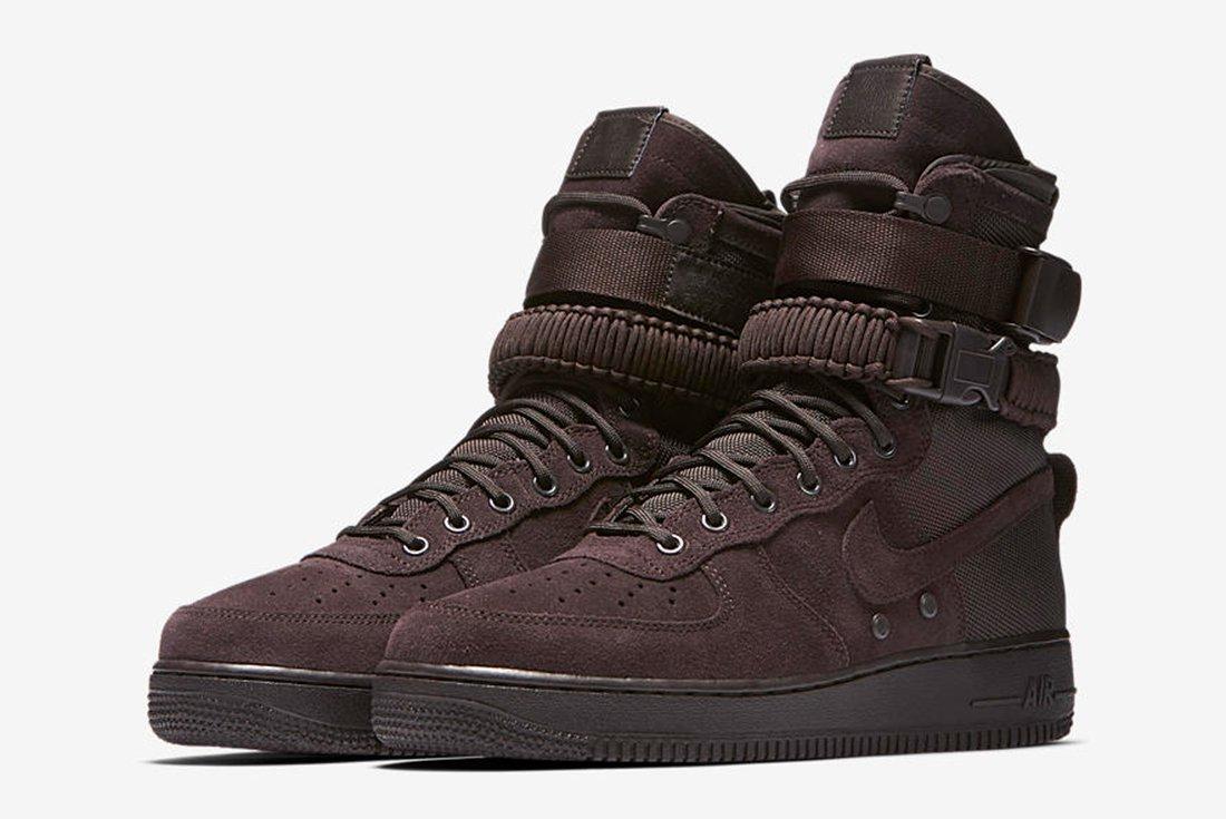 Nike Sf Air Force 1 Velvet Brown7