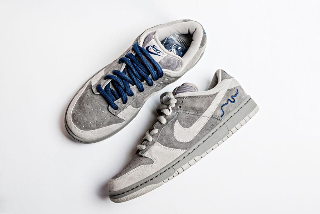 Nike Dunk Low Sb London on white