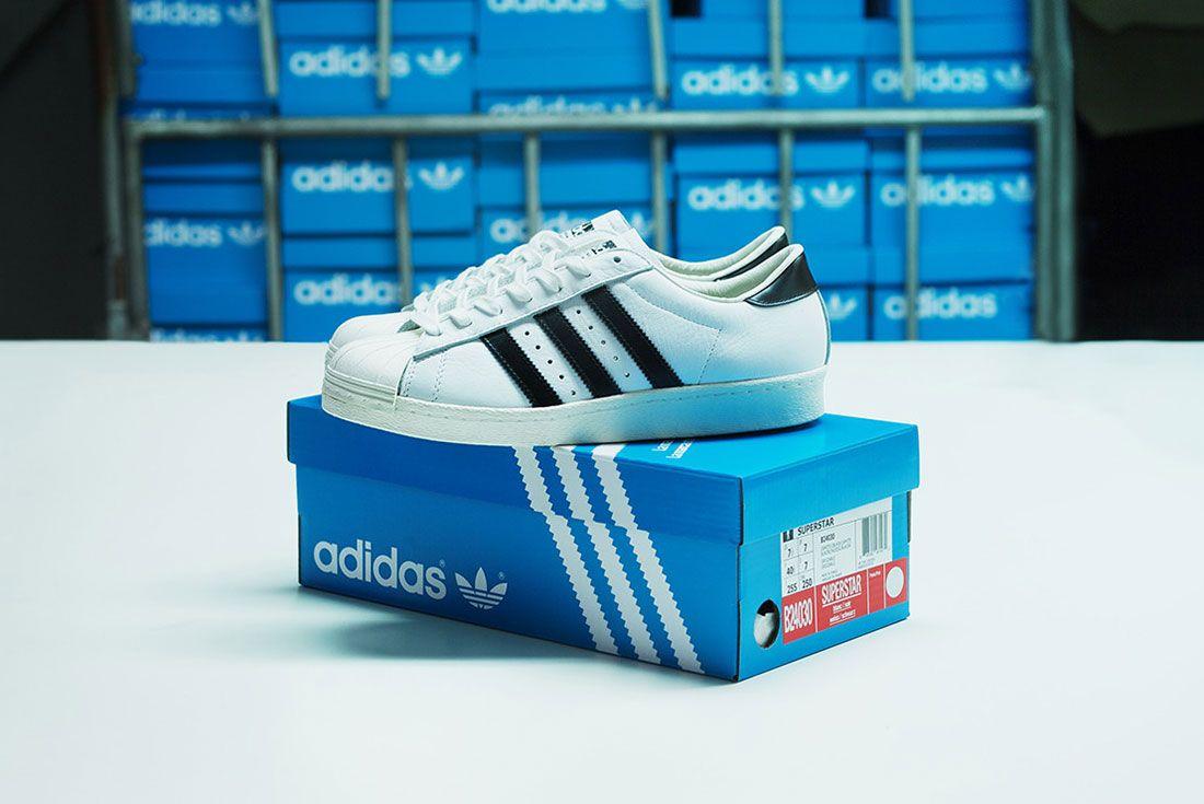 Adidas Consortium Superstar Made In France 2014