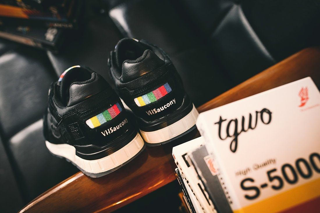 The Good Will Out X Saucony Shadow 5000 Vhs24