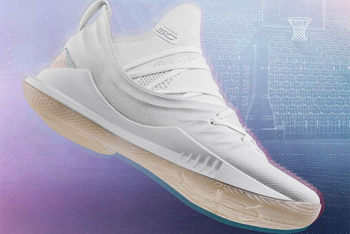 Under Armour Curry 5 Parade White Sneaker Freaker