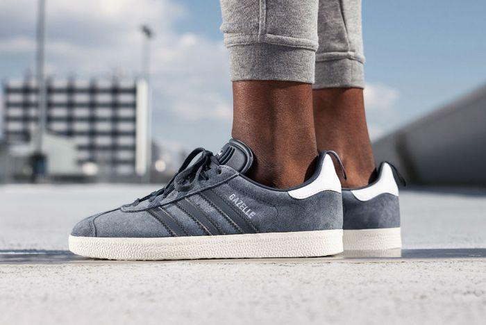 Adidas Gazelle Utility Blue4