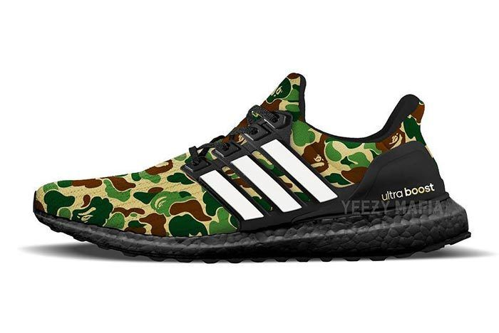 Bape X Adidas Ultra Boost New 2019