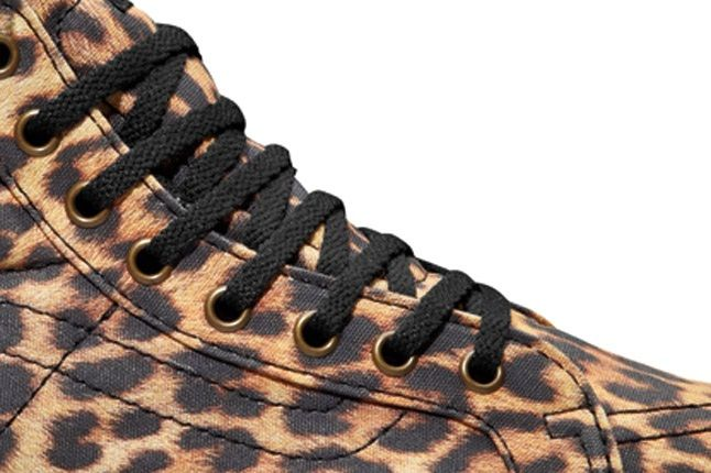 Vans Leather Platform Leopard Ties 1