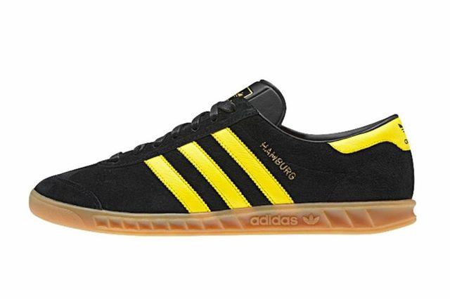 Adidas Hamburg Black Yellow 2