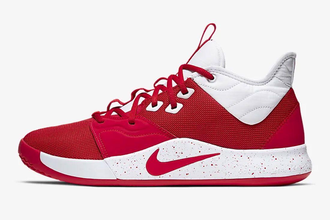 Nike Pg 3 Gear Up University Red Side