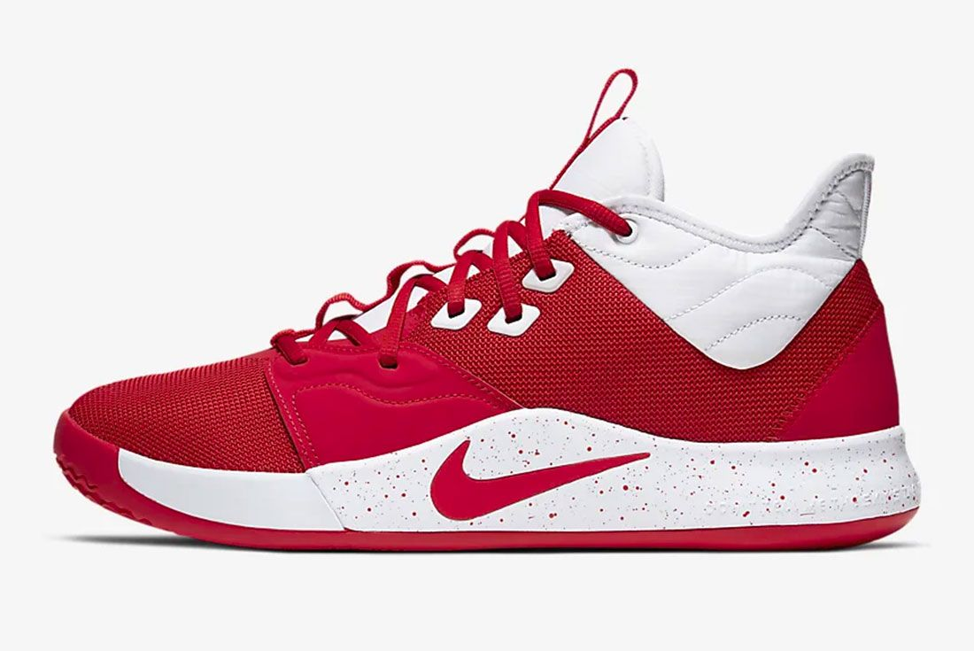 Nike Pg 3 Gear Up University Red Side