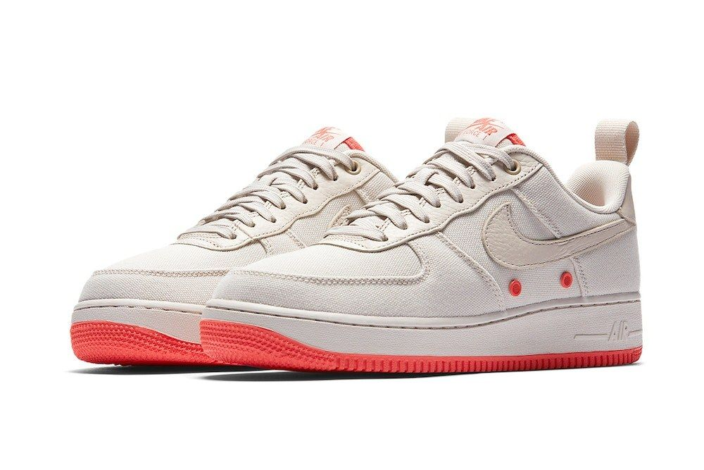 Nike Air Force 1 Low Canvas Desert Sand Release 1