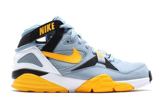 Nike Air Trainer Max 91 Stone Grey Yellow Black 1