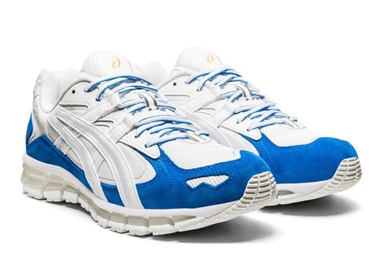 ASICS GEL-Kayano 5 360 Electric Blue Angled