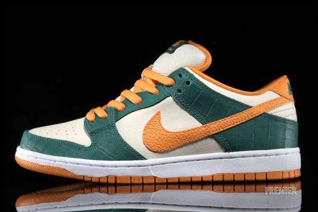 Nike Sb Dunk Low Legion Pine Kumquat 6