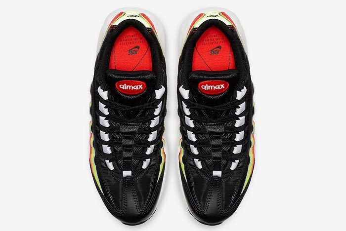 Nike Air Max 95 Black Neon Red 307960 019 5