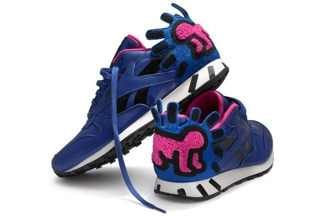 Reebok X Keith Haring Radiant Baby Blue Pair 1
