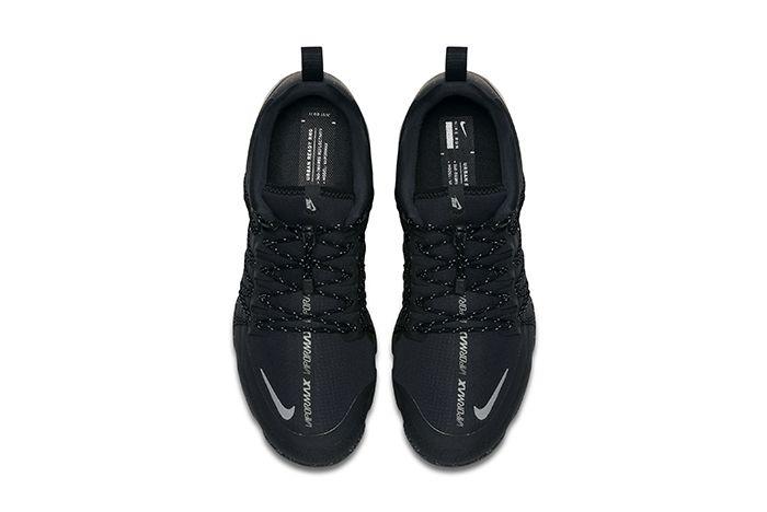 Nike Air Vapormax Run Utility Triple Black 3