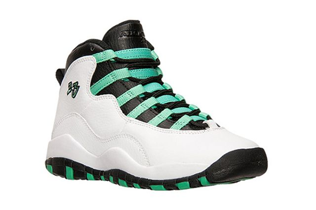 Air Jordan 10 Gg White Verde Black Thumb