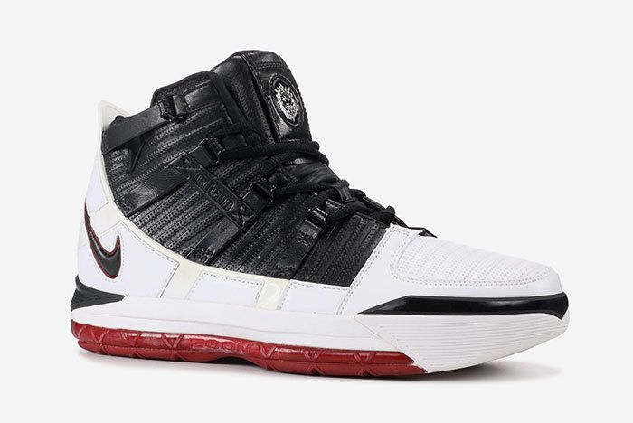 Nike Lebron 3 Qs Ao2434 101 White Black Varsity Crimson 2