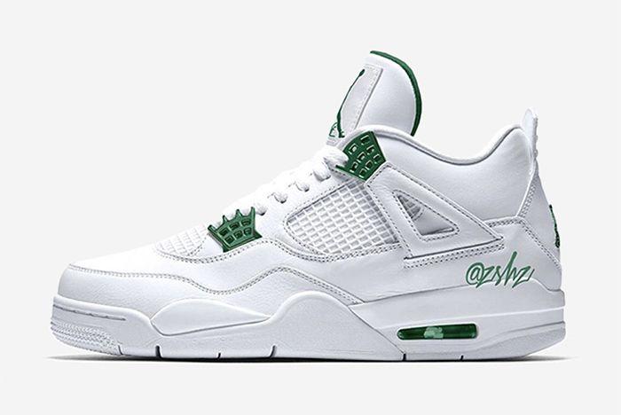 Air Jordan 4 Pine Green
