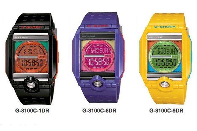 New G Shock C Cubed G 8100 C 1