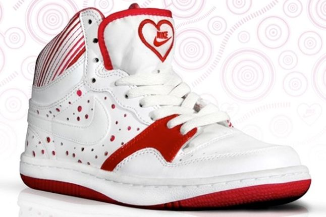 Nike Court Force One Valentines 3 1