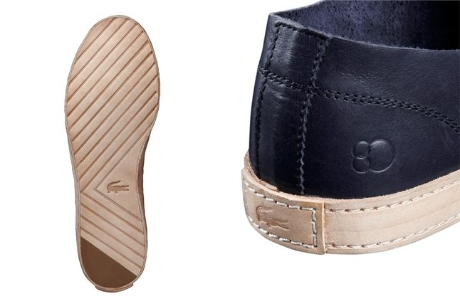Lacoste Rene Crafted Black Heel Sole 1