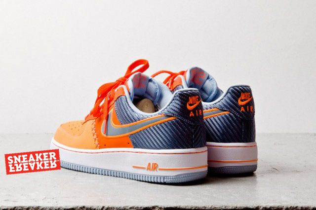 Nike Air Force 1 Low Team Orange Total Orange 4