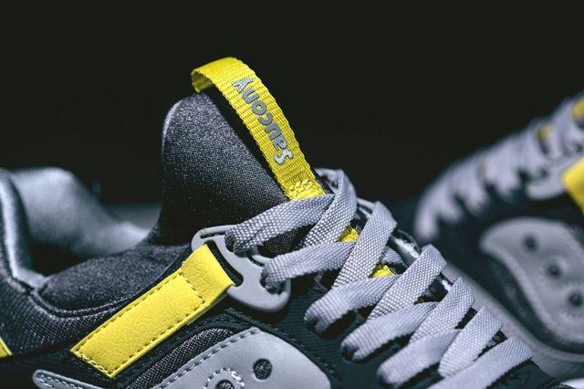 Saucony Grid 9000 Grey Yellow 1