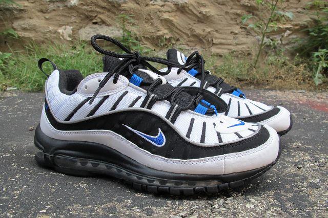 Nike Air Max 98 Hyper Cobalt Black 1