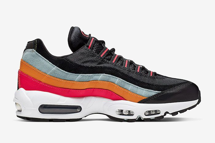 Nike Air Max 95 Black Kumquat Inside