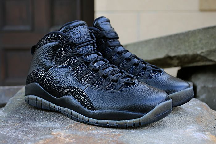 Drake X Air Jordan 10 Ovo Black Stingray11