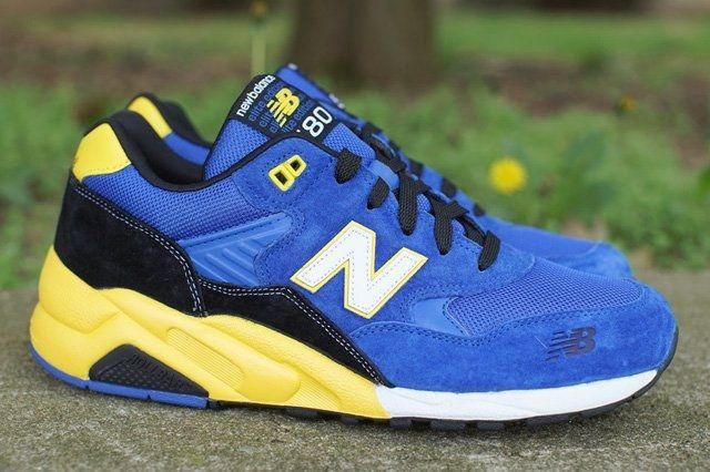 New Balance 580 Blue Yellow Thumb