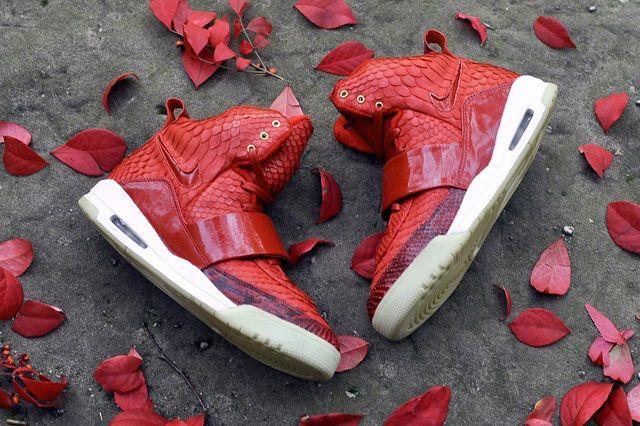 Jbf Customs Nike Air Yeezy 1 Red October 2