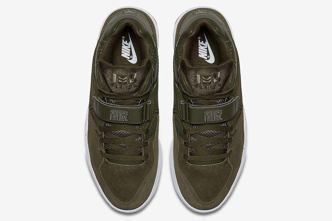 Nike Air Force 180 Olive Sneaker Freaker 4