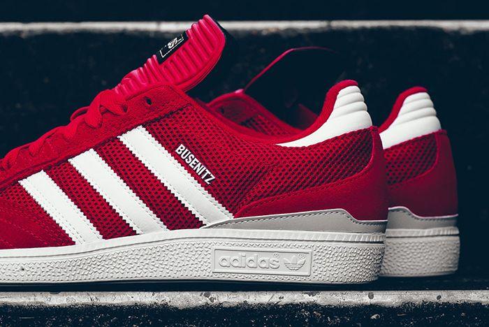 Adidas Busenitz Red Mesh 5