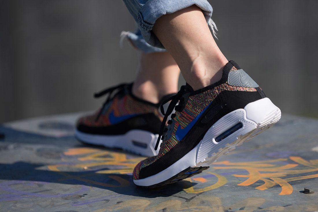 Nike Air Max 90 Flyknit Rainbow 2