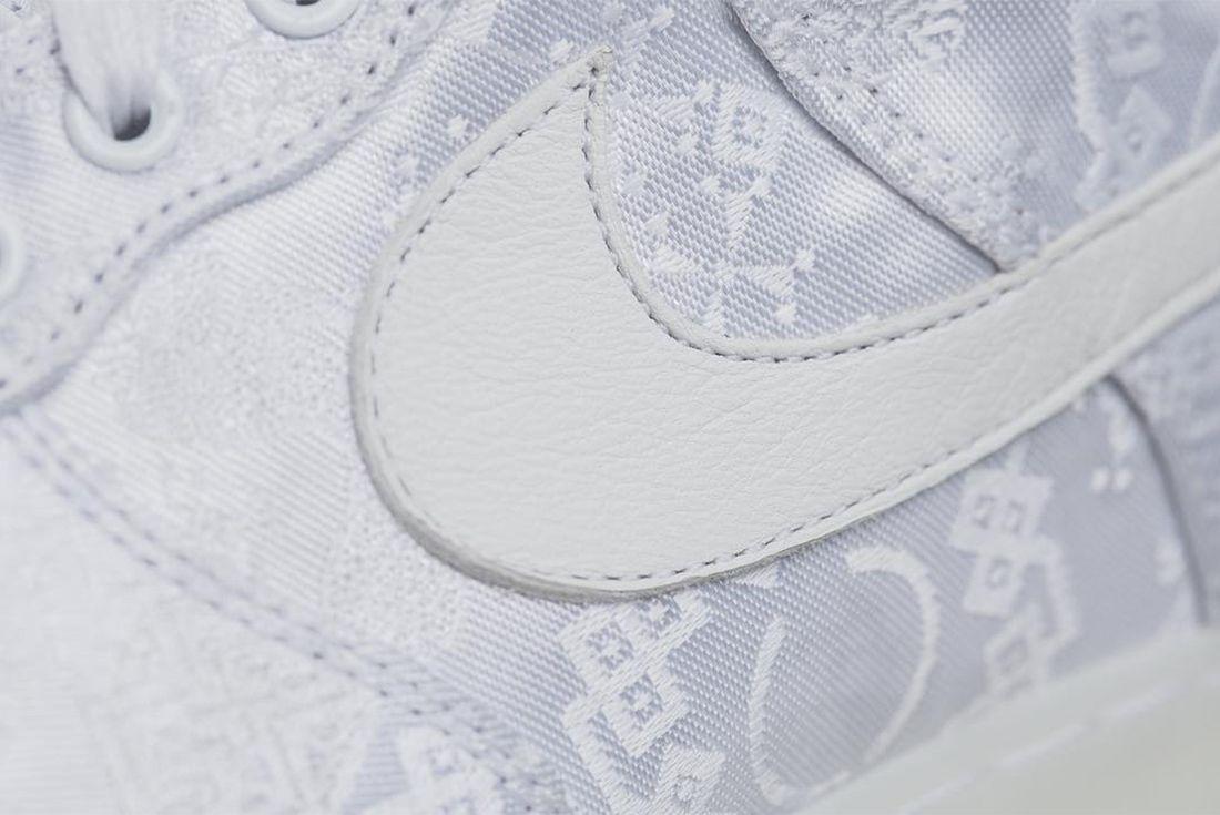 Clot X Nike Air Force 1 White On White 2018 Sneaker Freaker 7