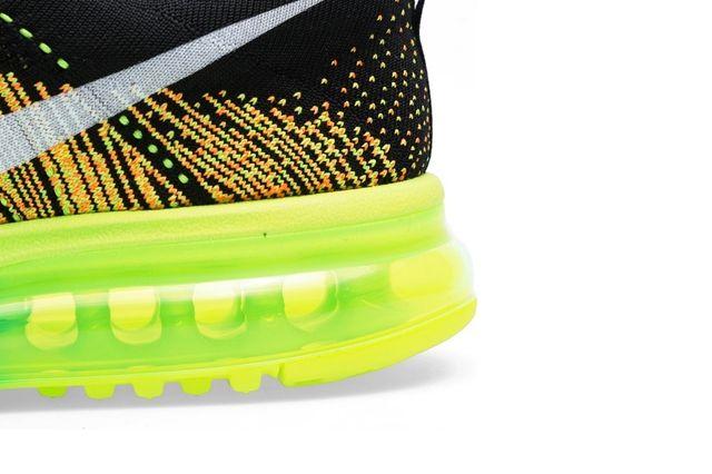 Nike Flyknit Max Turbo Green 1