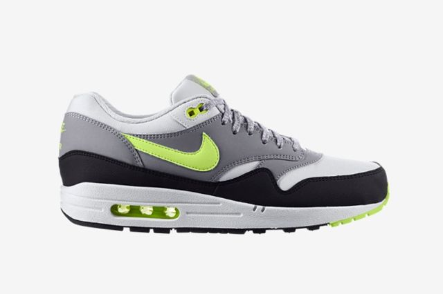 Nike Air Max 1 Dark Grey Volt 1