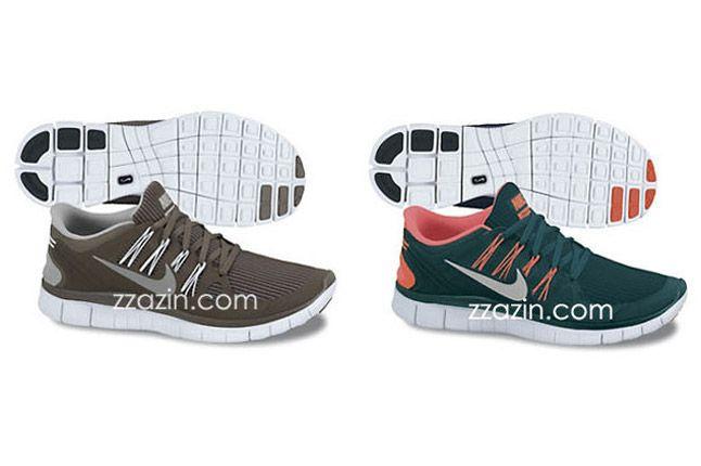 Nike Free Run 4 Olive Green 1