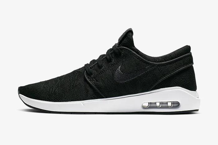 Nike Sb Air Max Janoski 2 Black Lateral
