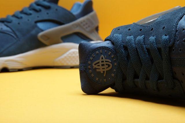 Nike Air Huarache Blue Platinum Bumper 1