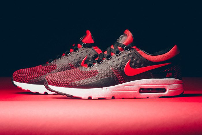 Nike Air Max Zero Black Red 1