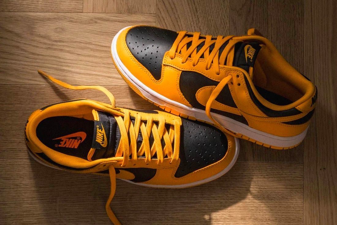 Nike Dunk Low Golden Rod