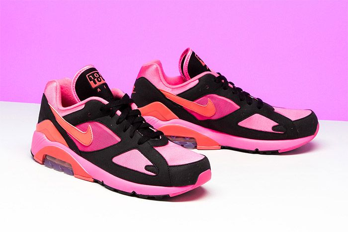 Comme Des Garcons Nike Air 180 Pink 9