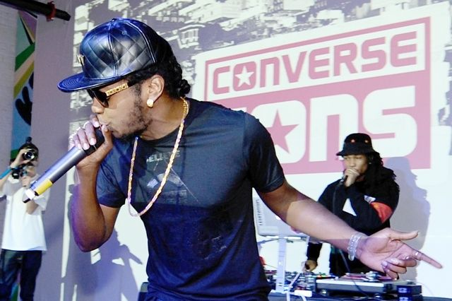 Thumb Converse Cons Sneaker Launch Trinidad James