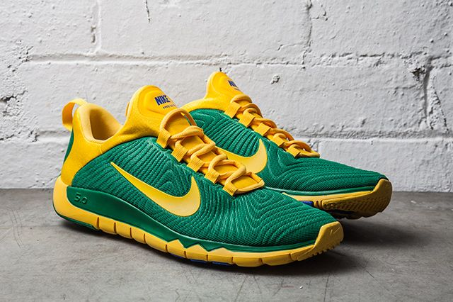 Nike Free Trainer Nrg Pine Green Varsity Maize 2