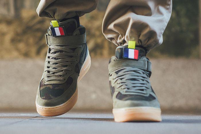 Nike Air Force 1 Mid Jewel France 3