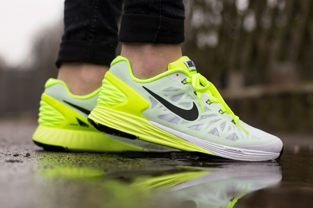 Nike Lunarglide 6 Gs Liquid Lime Volt 1