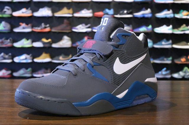 Nike Air Force 180 Dark Grey Royal 1