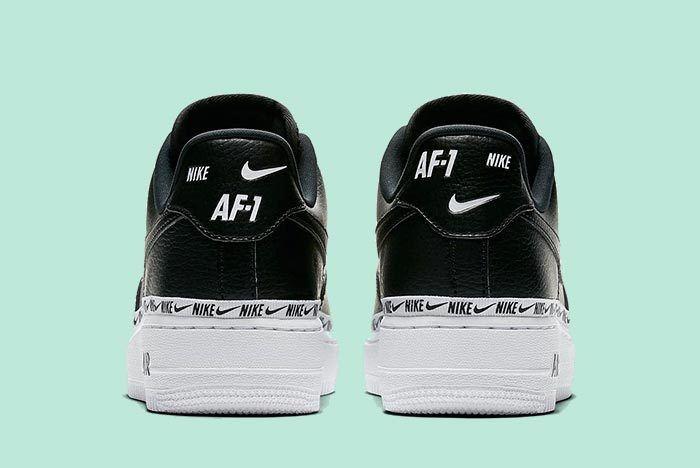 Nike Wmns Af1 Logos Black 4