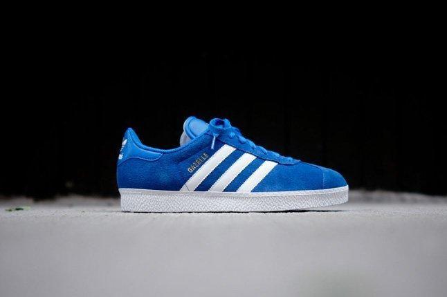 Adidas Gazelle Ii Blue Profile 1